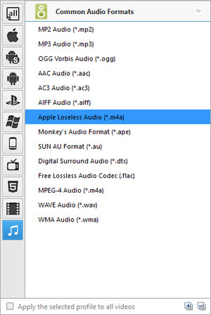 how to convert cda to wma format
