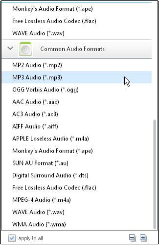 Add Video or Audio to Free MP3
