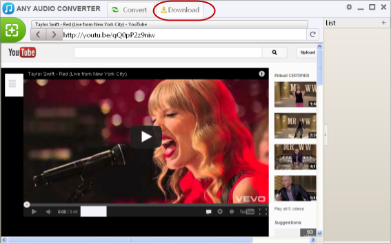 Download and Convert Vevo Video to MP3